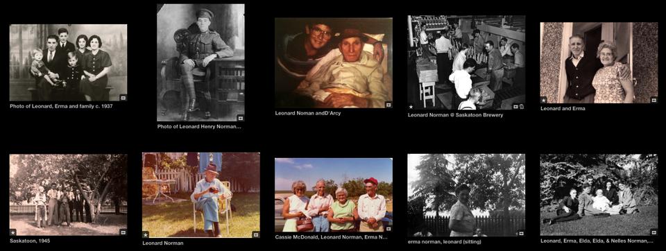 Leonard norman photos